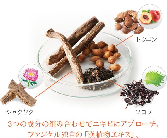ファンケルアクネケア漢植物エキス