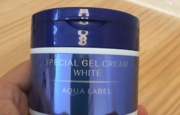 アクアレーベルスペシャルジェルクリームホワイト成分解析