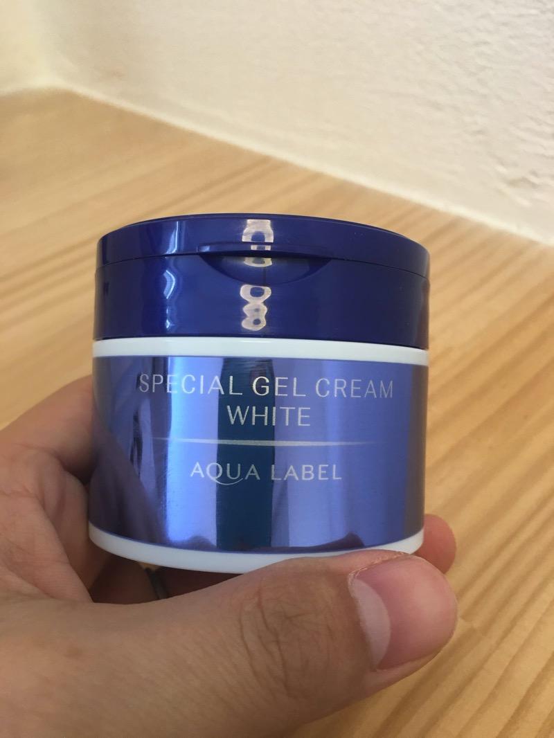 【美白】アクアレーベルスペシャルジェルクリームホワイトの成分解析&使用感レビュー